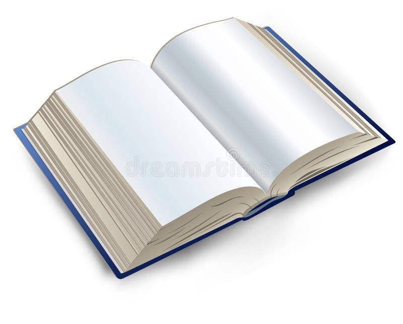 Boek vector illustratie