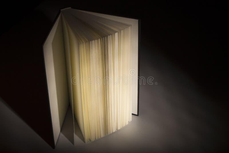 Boek in de Schaduwen royalty-vrije stock afbeeldingen