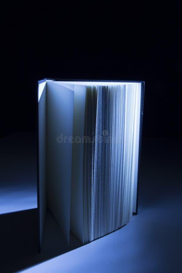 Boek in de Schaduwen royalty-vrije stock fotografie