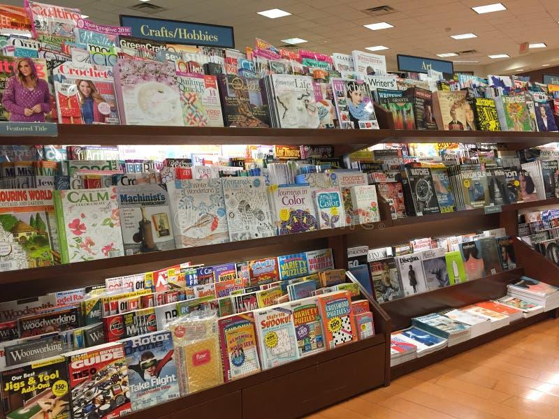 Boek en tijdschriften het verkopen stock fotografie