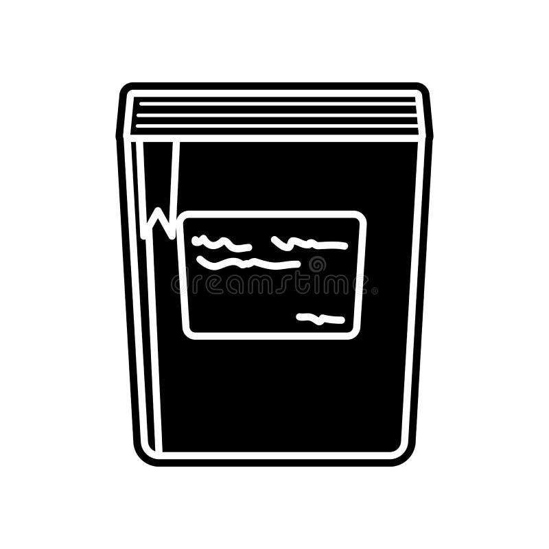 boek met een referentiepictogram Element van onderwijs voor mobiel concept en Web apps pictogram Glyph, vlak pictogram voor websi royalty-vrije illustratie