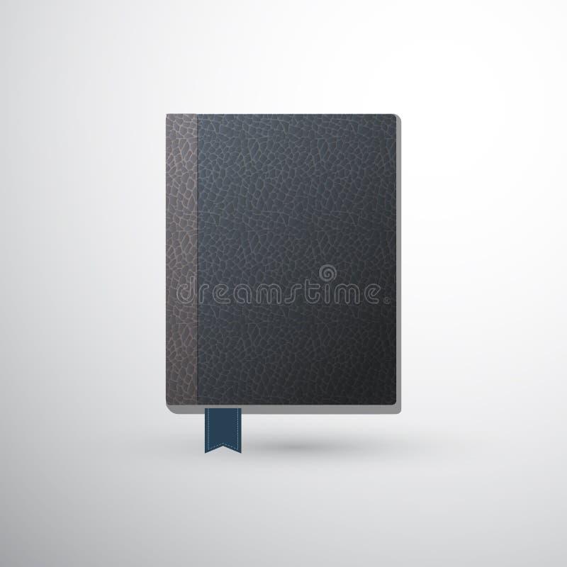 Boek met referentie royalty-vrije illustratie