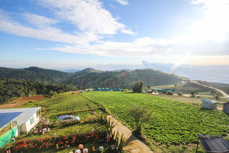 Boek thap Phu, провинция Phetchabun, Таиланд стоковое фото