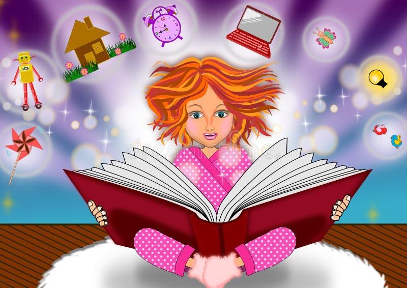 Boek van kennis royalty-vrije illustratie