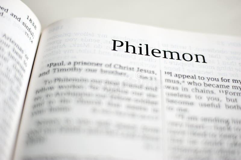 Boek van Philemon royalty-vrije stock afbeeldingen