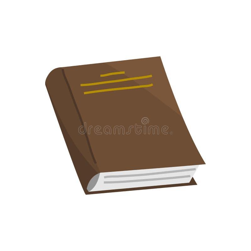 Boek voor Minnaar van literatuur Encyclopedie?n voor lezing Omgekeerde pagina's Voorwerp in eigentijdse stijl Vector stock illustratie
