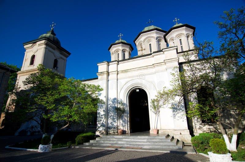 Boekarest - Radu Voda Monastery stock afbeelding