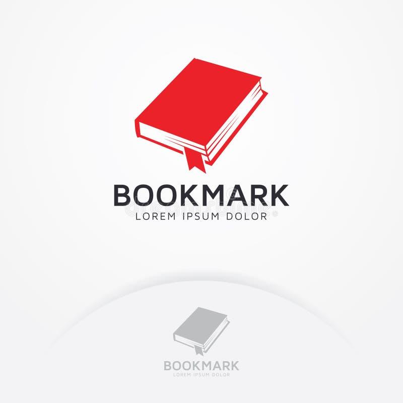 Boekembleem royalty-vrije illustratie