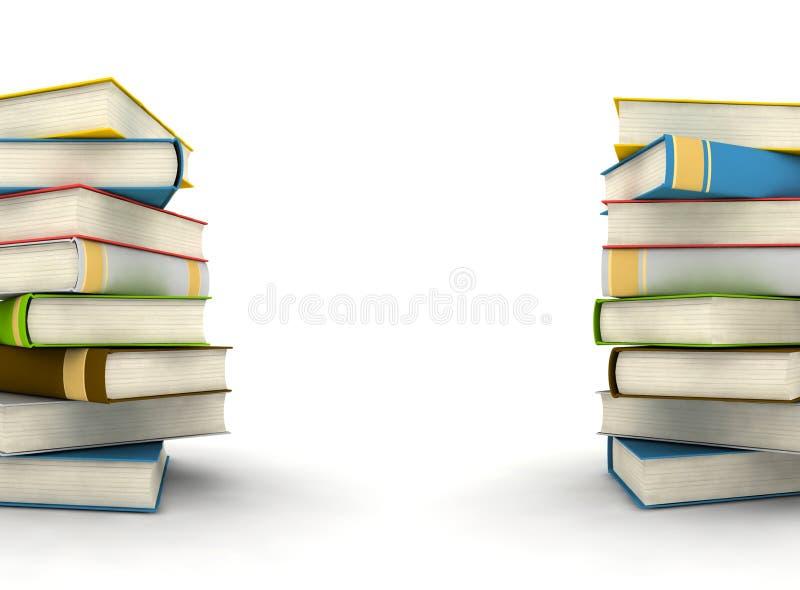 Boeken royalty-vrije illustratie