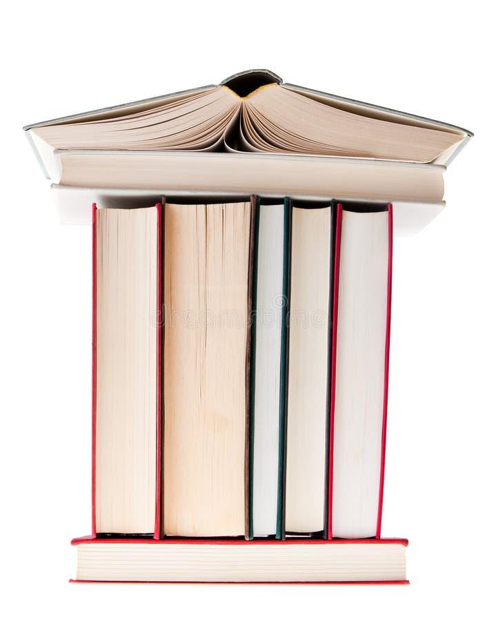 Boeken de Bouw royalty-vrije stock foto