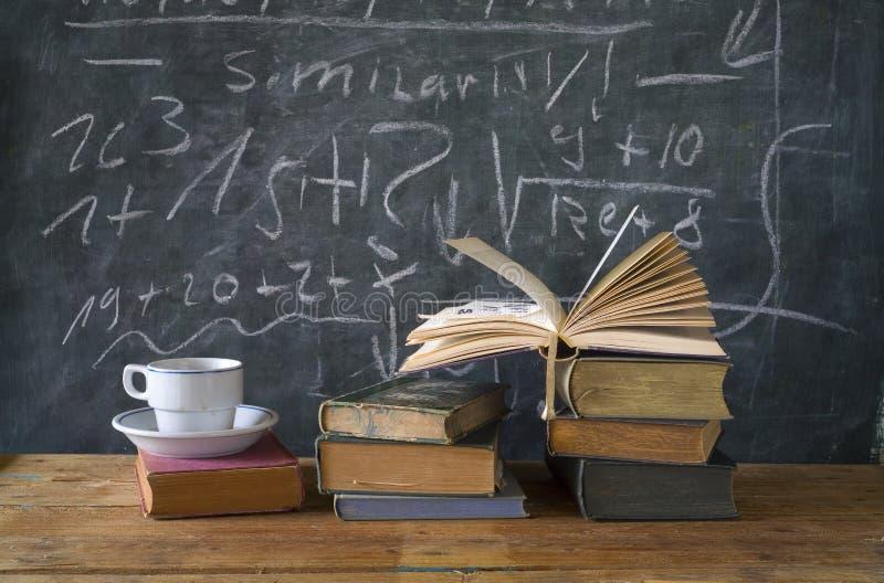 Boeken, onderwijs, het leren stock foto