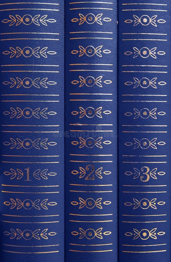 Boeken op een plank stock afbeeldingen