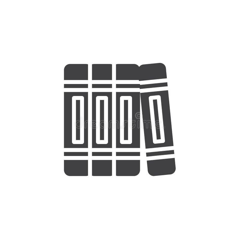 Boeken vectorpictogram vector illustratie