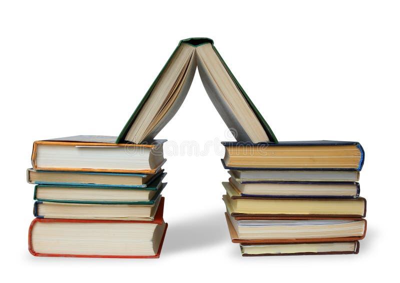 Boeken zoals huis royalty-vrije stock foto