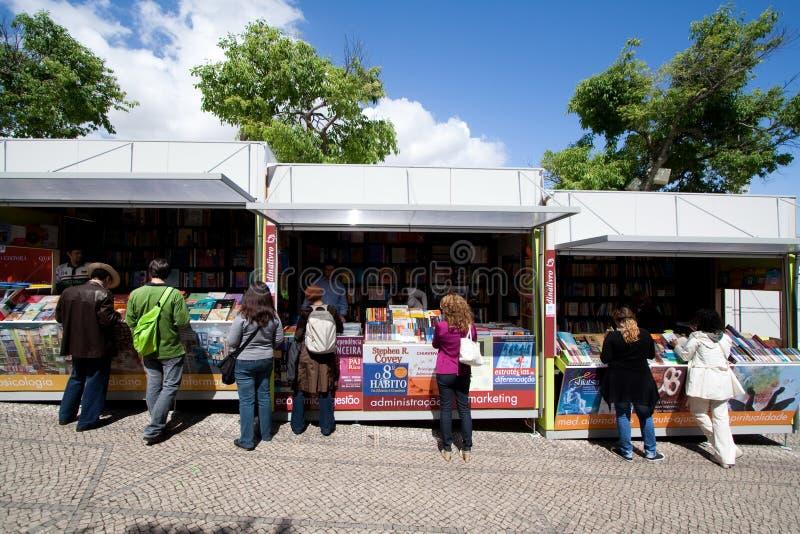 Boekenbeurs Lissabon royalty-vrije stock fotografie