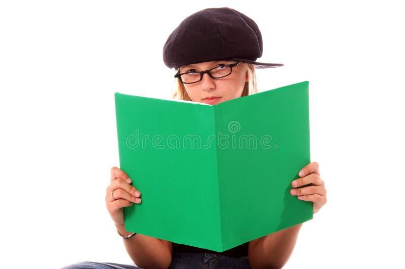 Boekenwurm stock afbeelding