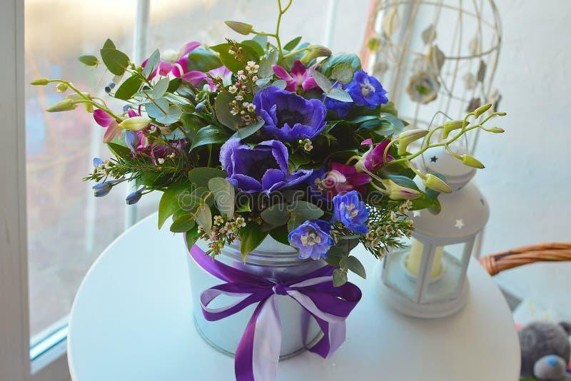 Boeket van bloemen voor een Moederdag royalty-vrije stock fotografie