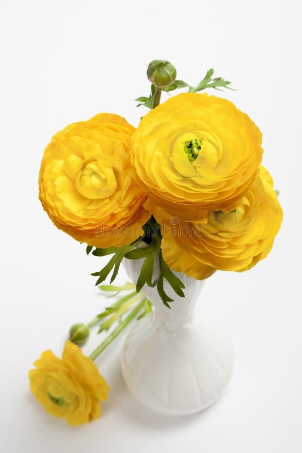 Download Boeket Van Gele Perzische Boterbloemenbloemen Stock Foto - Afbeelding bestaande uit achtergrond, groet: 54087892