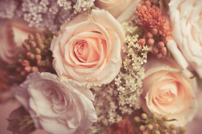 Boeket van rozen royalty-vrije stock afbeelding