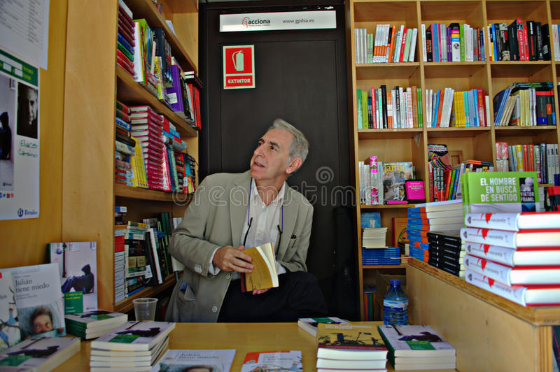 Boekhandelaar 130 royalty-vrije stock fotografie