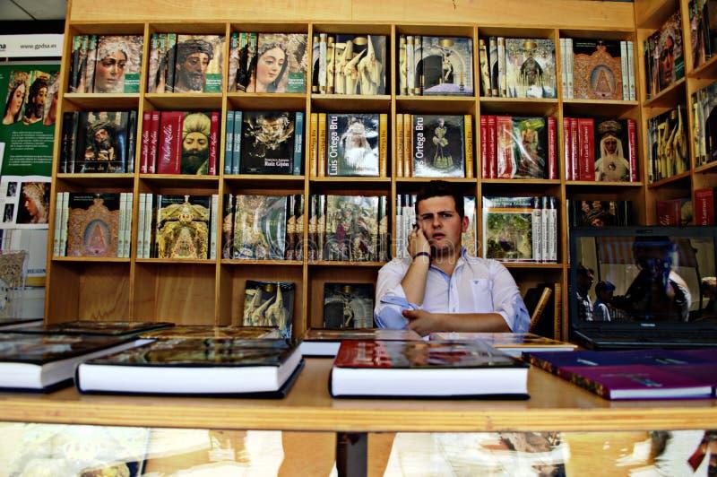 Boekhandelaar 131 royalty-vrije stock afbeelding