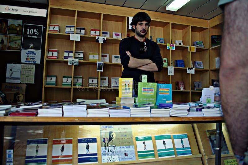 Boekhandelaar 133 stock foto