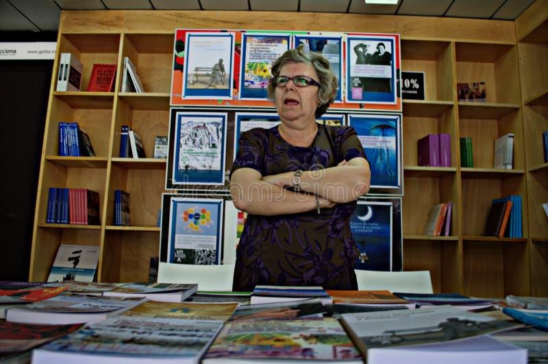 Boekhandelaar 135 royalty-vrije stock fotografie