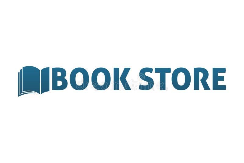 Boekhandelembleem vector illustratie