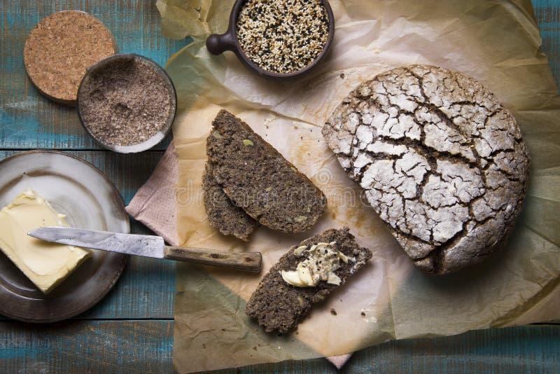 Boekweitbrood stock afbeelding