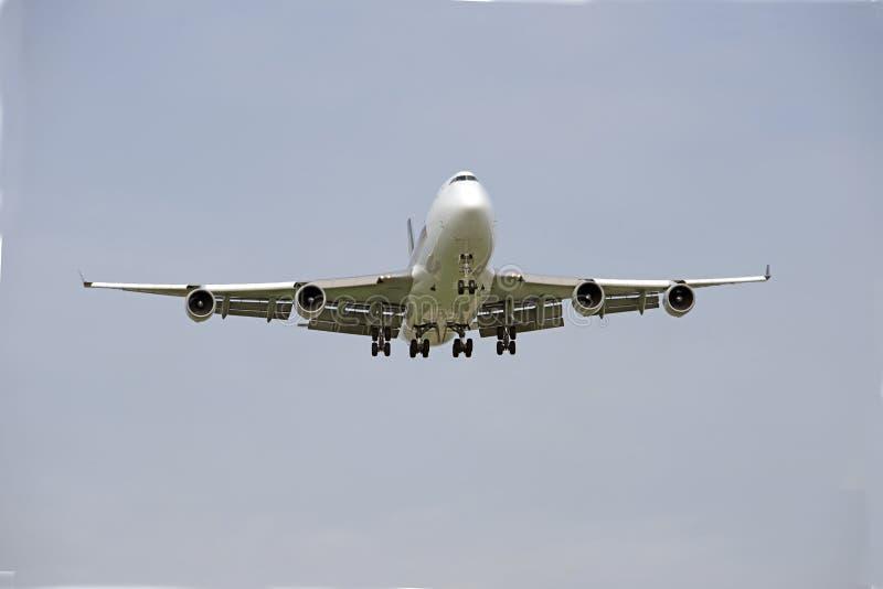 Boenig 747 de lading van ER stock foto