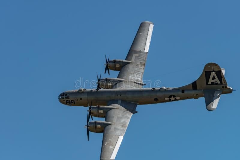 Boening B-29 Superfortress ` FIFI ` stock afbeeldingen