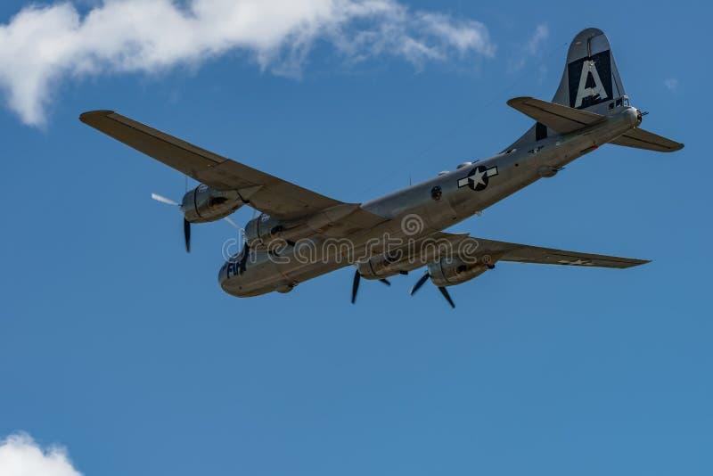 Boening B-29 Superfortress ` FIFI ` stock foto's
