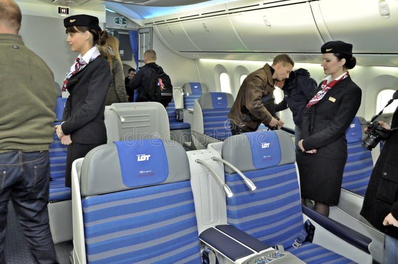 Boening 787 Dreamliner 库存图片