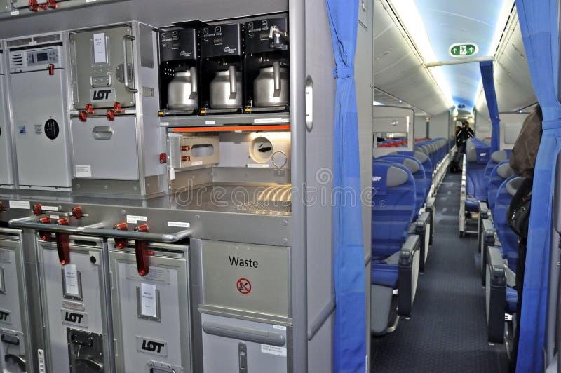 Boening 787 Dreamliner fotografía de archivo libre de regalías