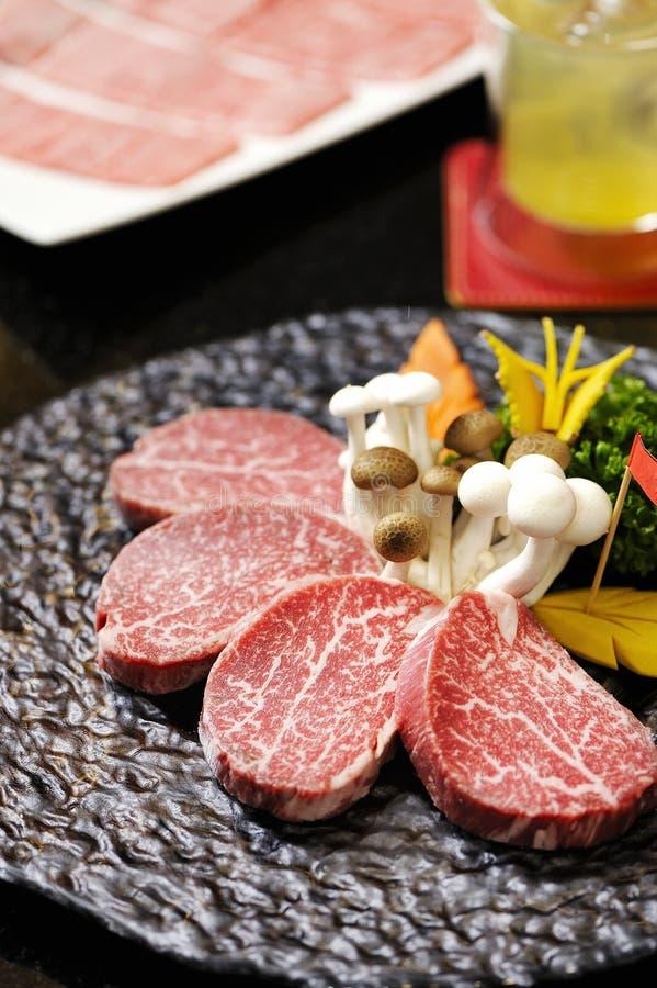 Boeuf de Kobe photographie stock libre de droits