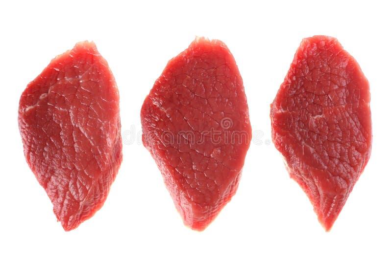 Boeuf de viande fraîche images libres de droits