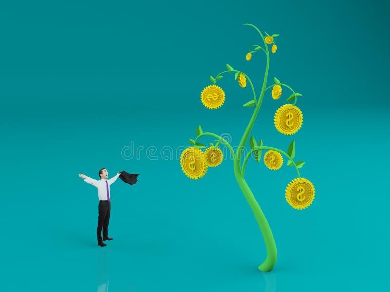 Bogactwo i bogactwa pojęcie obrazy stock