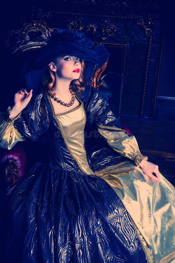 Bogata młoda dama zdjęcie royalty free
