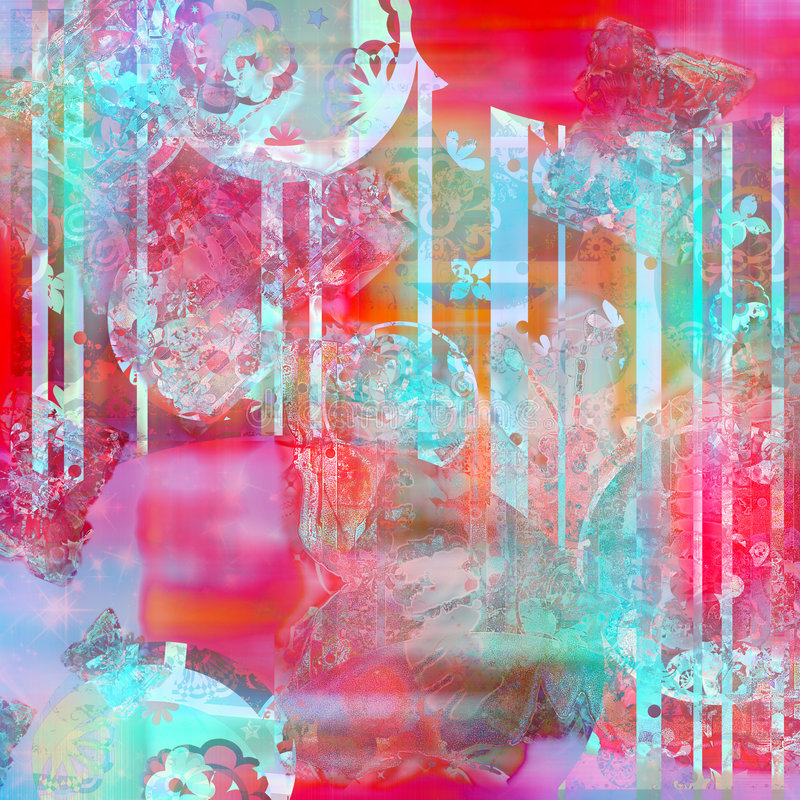 bogata tekstury akwarela tło royalty ilustracja