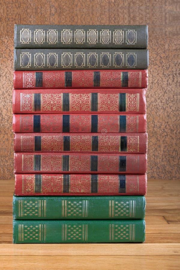 Bogato dekorować pojemność książki z złocistym literowaniem obrazy royalty free