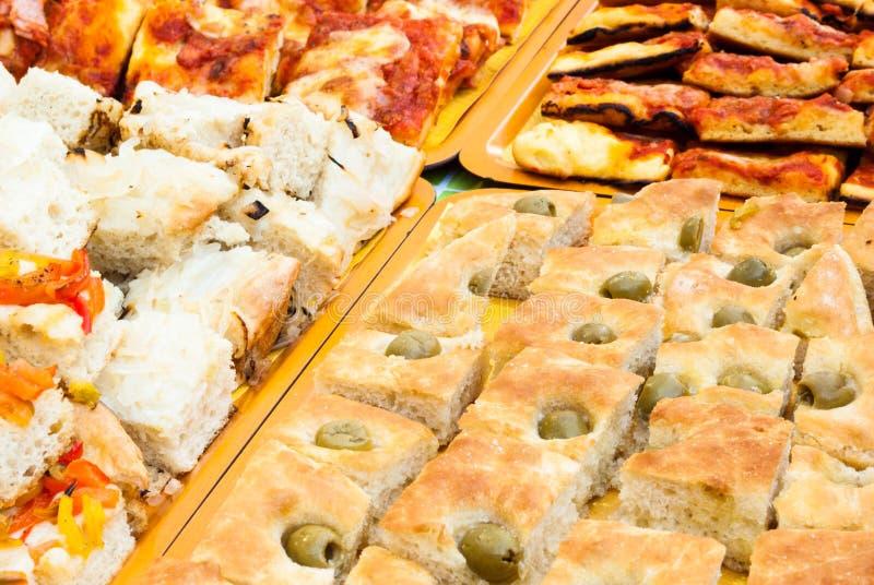 Bogaty śniadaniowy bufet fotografia royalty free