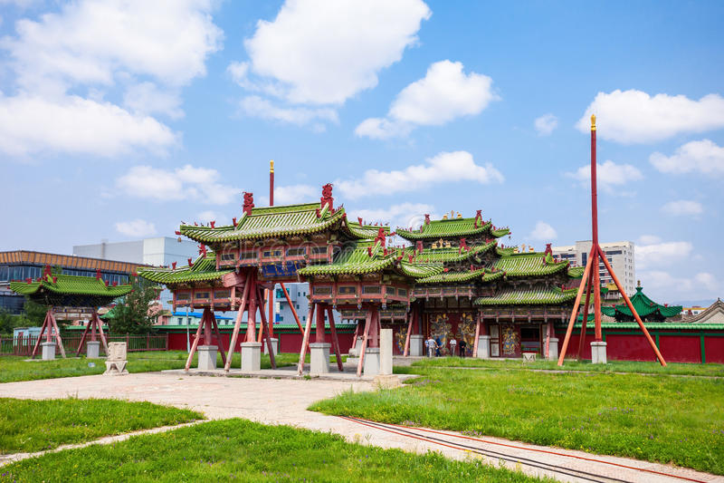 Bogd Khan Winter Palace fotografie stock libere da diritti