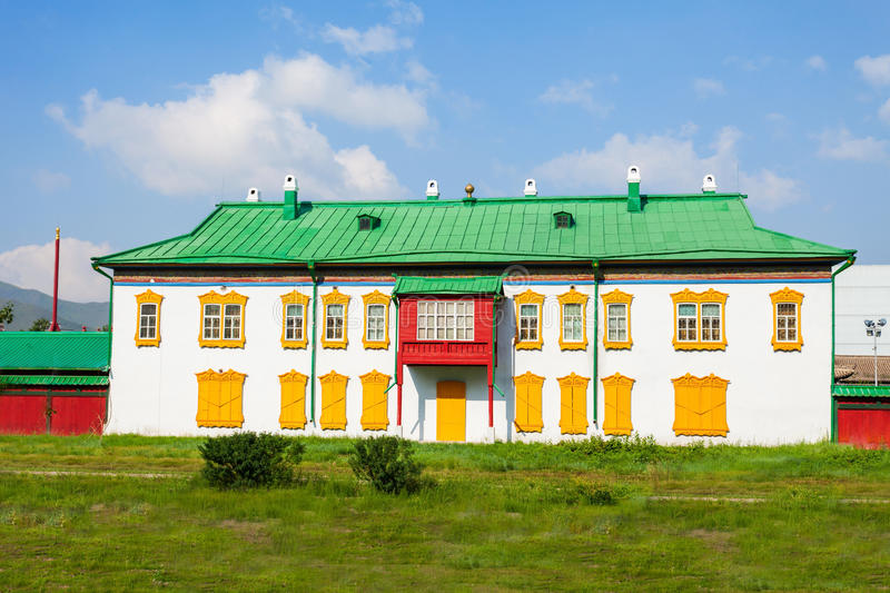 Bogd Khan Winter Palace royalty free stock images