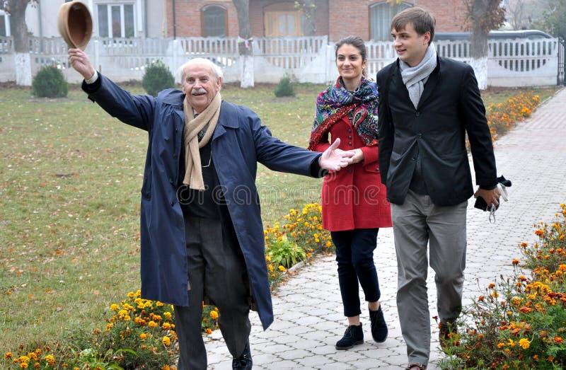 Bogdan Hawrylyshyn die Hofeingeborenschule lizenzfreie stockbilder