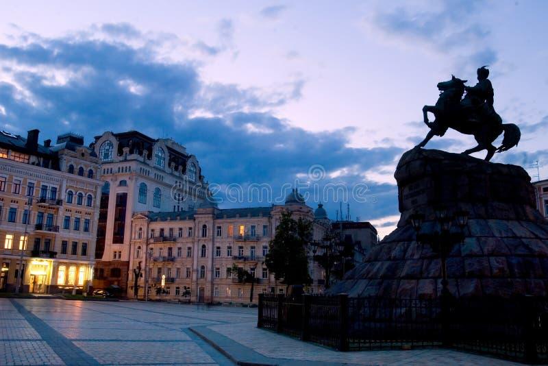 bogdan khmelnitsky άγαλμα στοκ φωτογραφίες με δικαίωμα ελεύθερης χρήσης