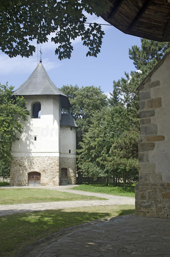 Bogdana-Kloster, Radauti, Rumänien stockfotos