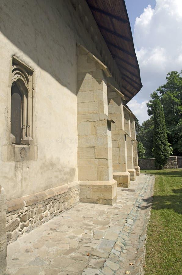 Bogdanaklooster, Radauti, Roemenië royalty-vrije stock foto