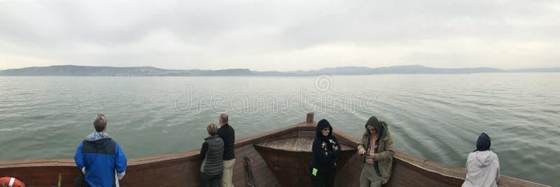 Bogen des Glaubens - Meer von Galiläa lizenzfreie stockbilder