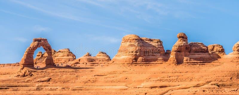 Bogen Nationaal Park Moab Utah de V.S. royalty-vrije stock afbeelding