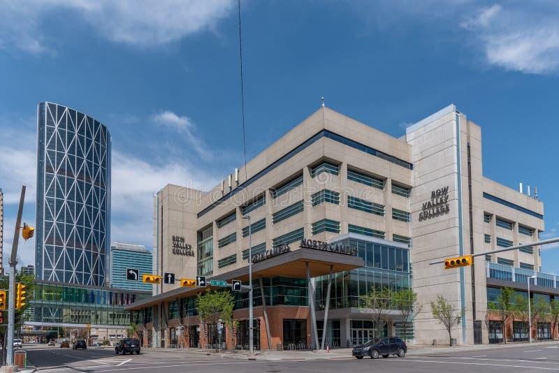 Bogen-Tal-College in Calgary Alberta lizenzfreies stockfoto
